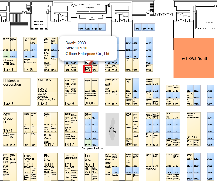 BOOTH NO.2039